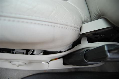 gmc acadia seats  cracking  breaking