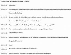 HKU Department of Geography to host Geography Day 2014 ...