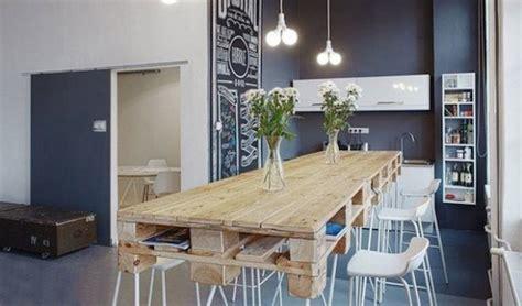 table cuisine palette table en palette 44 idées à découvrir photos
