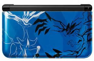 pokemon xy 3ds xl blue