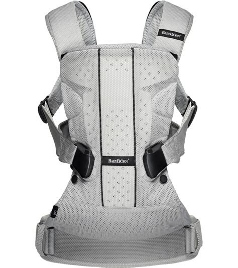 porte bebe baby bjorn babybjorn baby carrier one air silver