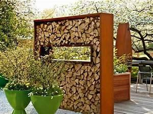 Holzlagerung Im Haus : die besten 25 holzlagerung ideen auf pinterest holzunterstand holzunterstand metall und ~ Markanthonyermac.com Haus und Dekorationen