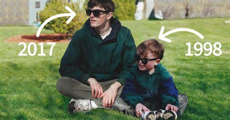 guy photoshops   childhood pics  young
