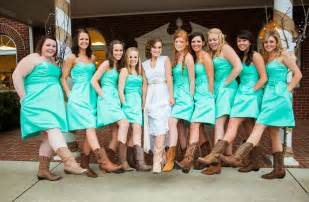 bridesmaid dresses with boots bridesmaid dresses with cowboy boots