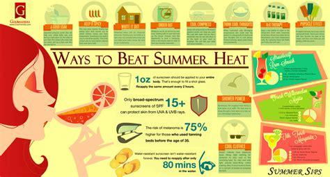 ways  beat summer heat visually
