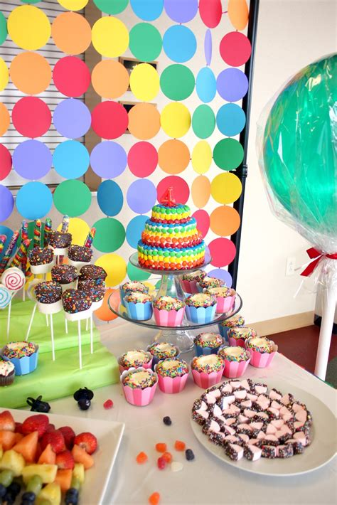 The Everyday Posh Candy Land Birthday Party