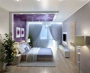 Vibrant colors in your bedroom home designing for Unique bedroom colors