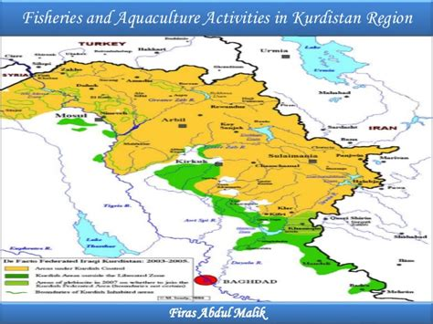 fisheries  aquaculture activities  kurdistan region