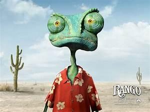 Rango the chameleon - Rango wallpaper 2 - Wallcoo.net