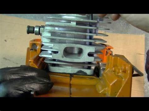 Engine Rebuild On Husqvarna 55 & 51 Chainsaw Part 2/3