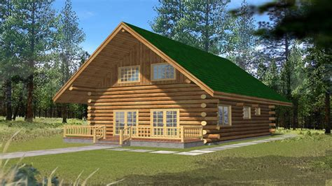 Small 2 Bedroom Cottage 2 Small Log Cabins With Lofts 2 Bedroom Log Cabin Homes Kits