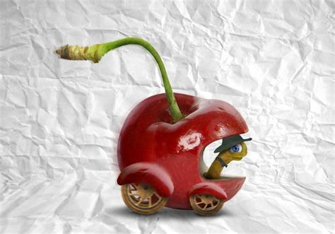 creative photo manipulations  food hongkiat