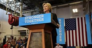 Clinton Lays Into Trump on the Economy - The New York ...