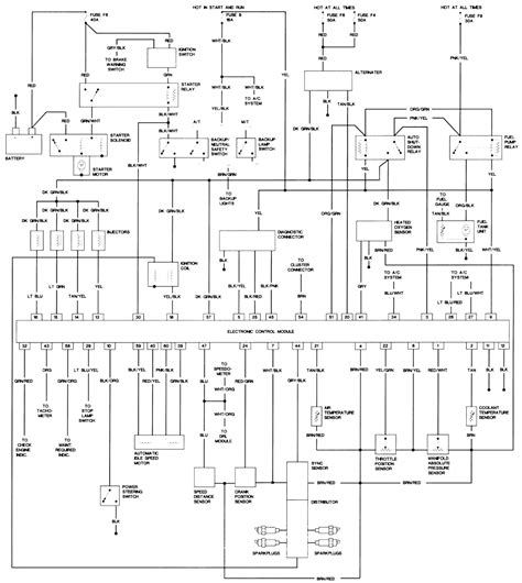 Jeep Wrangler Wiring Diagram For Fuel Pump Fixya