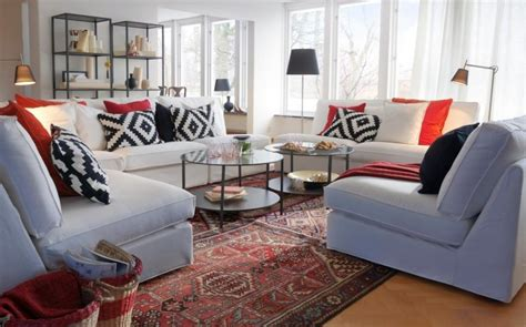 coussin canapé ikea ikea salon 50 idées de meubles exquises pour vous