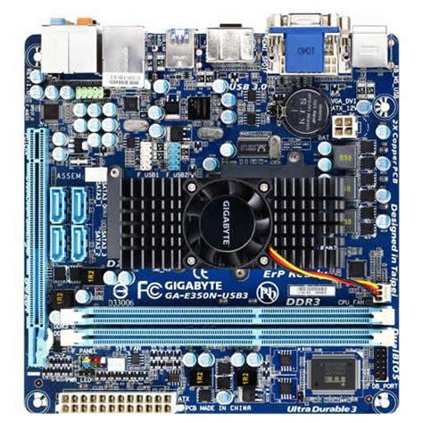 carte mere pc bureau gigabyte ga e350n usb3 carte mère gigabyte sur ldlc com