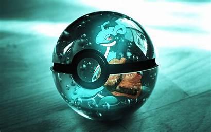 Balls Wallpapers Pokemon Ball Lapras Anime Pokemon