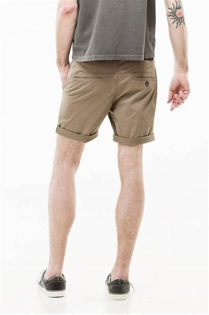 Wood Shorts Denim Camel Dr Short