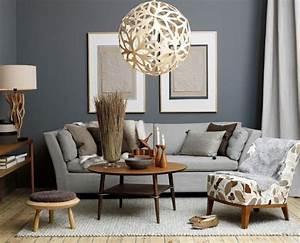 Wohnzimmer Wandfarbe Grau : wandfarbe grau sofa design kleiner kaffeetisch sitzecke pinterest wandfarbe wohnzimmer ~ Orissabook.com Haus und Dekorationen