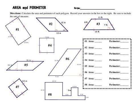 5th Grade » Area Perimeter Volume Worksheets 5th Grade  Printable Worksheets Guide For Children