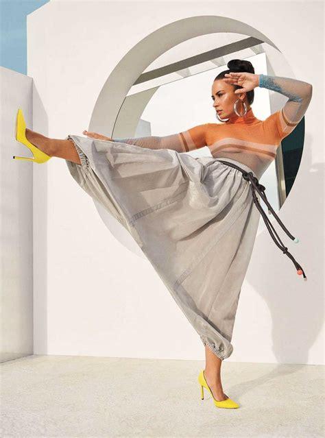 Demi Lovato In Instyle Magazine April 2018 Celebrity
