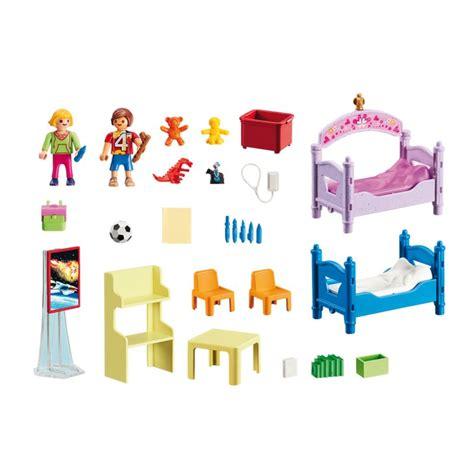 jeux de chambre à décorer chambre d enfants avec lits superpos 233 s r n playmobil