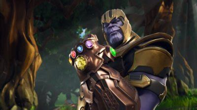 fortnite thanos  le mode gant de linfini une
