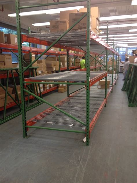 used pallet rack used pallet rack island city free on site cost
