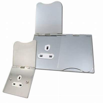 Sockets Floor Chrome Polished Switches