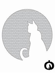 Cat, Silhouette, For, A, Halloween, Pumpkin