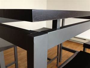 Minimalist Counter Height Dining Table Set by True