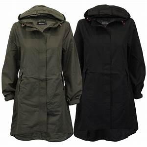 Ladies Kagool Jacket Brave Soul Womens Long Coat Hooded Cagoule Summer New | eBay