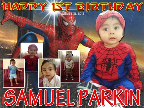 grace samuel parkins spiderman tarpaulin design cebu