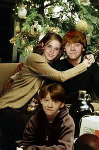 Harry Potter Ron and Hermione Son