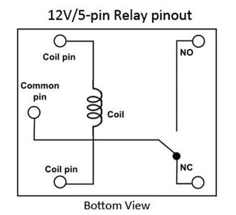 8 Pin Relay Configuration Diagram by Ordinary 12v 5 Pin Relay Pinout Search Device