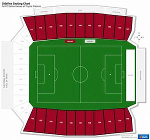 Toyota Field Seating Chart Toyota Stadium Soccer Seating Guide Rateyourseats Com