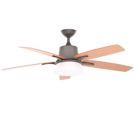 Hton Bay Ceiling Fan Wall by Hton Bay Waleska Ii 52 In Indoor Outdoor Iron
