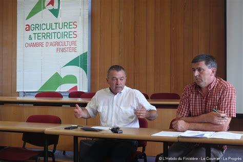 chambre d agriculture du finistere quimper un fonds pour les producteurs de lait proposé par