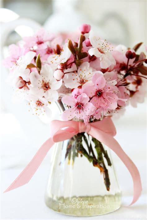 ideas  cherry blossom bouquet  pinterest