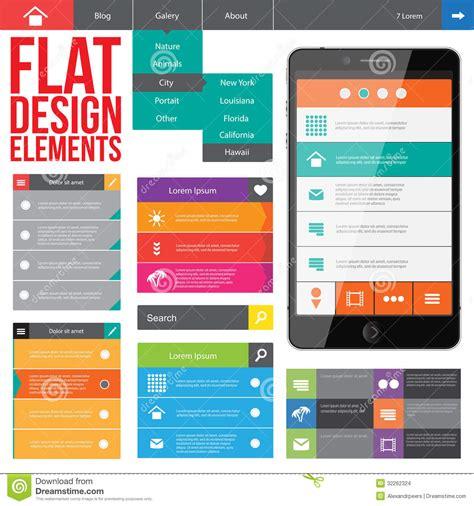 flat web design stock images image