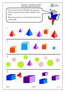 3d, Shape, The, Odd, One, Out, 1