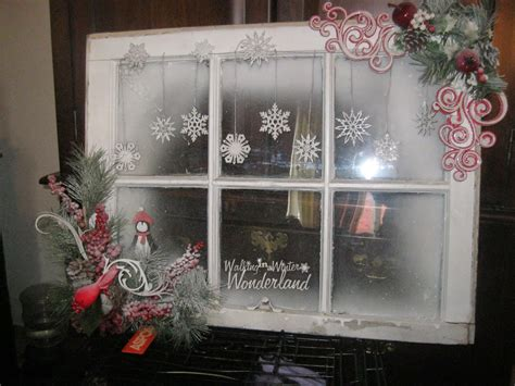 Dekorierte Fenster Weihnachten by Ginas Designs Walking Through The Winter