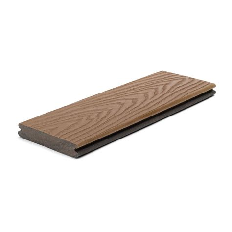 Trex Select Decking Home Depot by Trex 12 Ft Select Composite Capped Grooved Decking