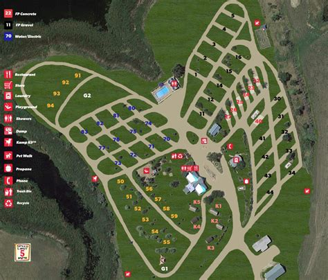 Midland, South Dakota Rv Camping Sites  Belvidere East