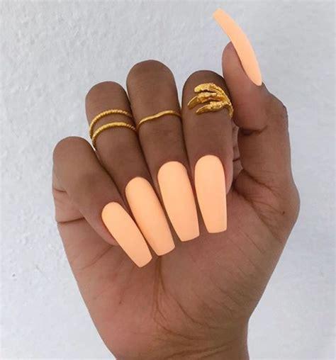 peach nail art ideas  pinterest peach colored