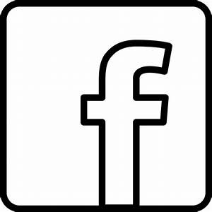 Facebook Logo Black And White Pictures to Pin on Pinterest ...