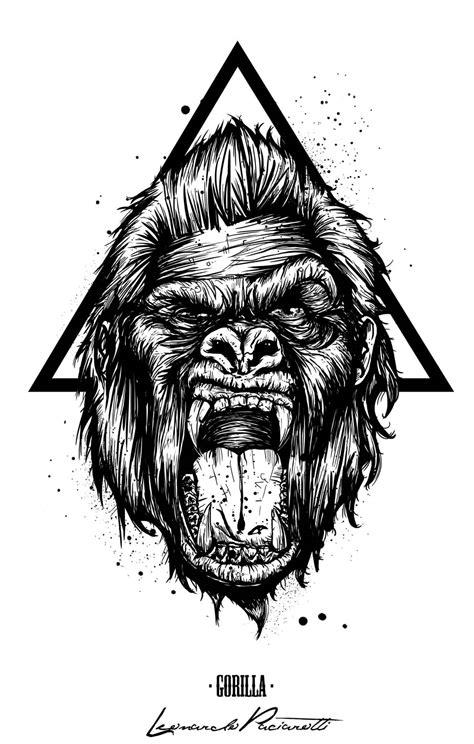 tshirt king kong hip hop gorilla levulture t shirt design taringa