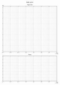 Carta Semilogaritmica Per Diagramma Di Bode