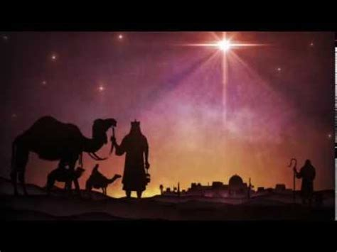 Christmas Star Followed by wise men - YouTube