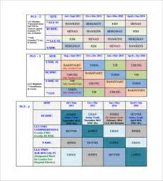 Monthly Staff Schedule Template Excel Sle Rotation Schedule Template 15 Free Documents In Pdf Word